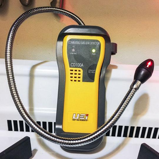 Gas Leak Meter